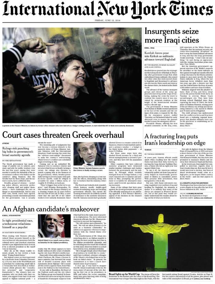 NEW YORK TIMES -ΚΑΘΑΡΙΣΤΡΙΕΣ