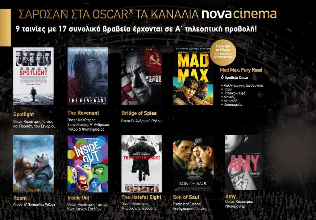 Press Release Oscar movies Photo