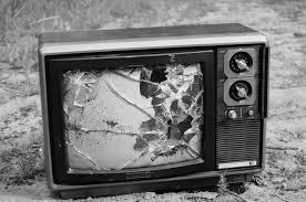 σπασμενη tv