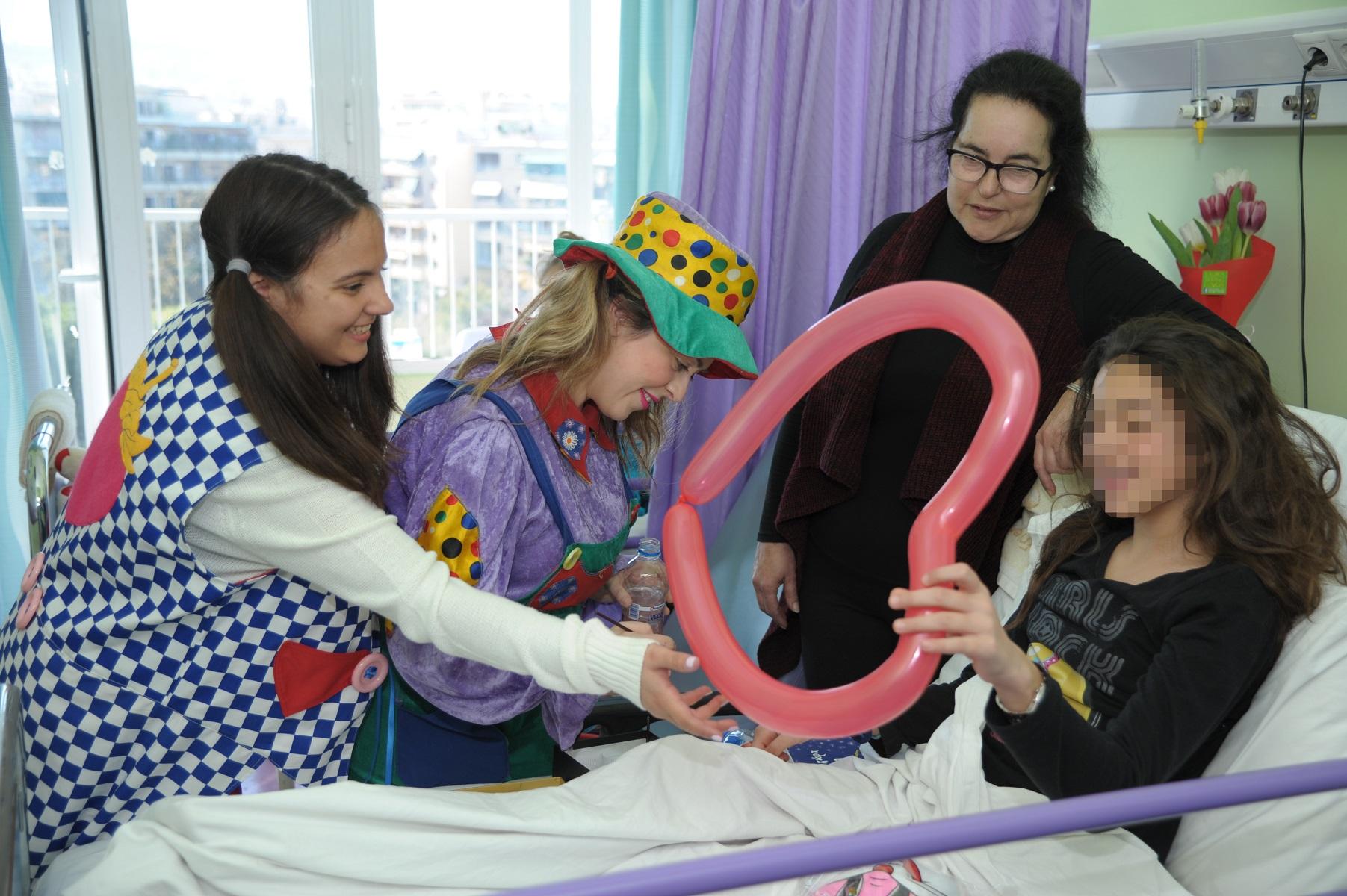 Ο ΟΠΑΠ κοντά στα παιδιά των δύο παιδιατρικών νοσοκομείωv