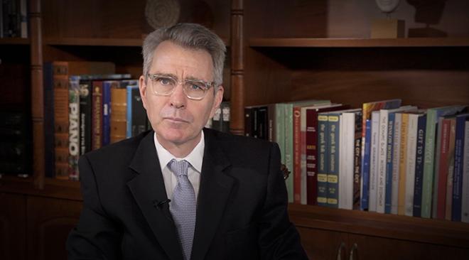 Ο πρέσβης των ΗΠΑ στην Αθήνα, Τζέφρι Πάιατ αποκλειστικά στο News 24/7