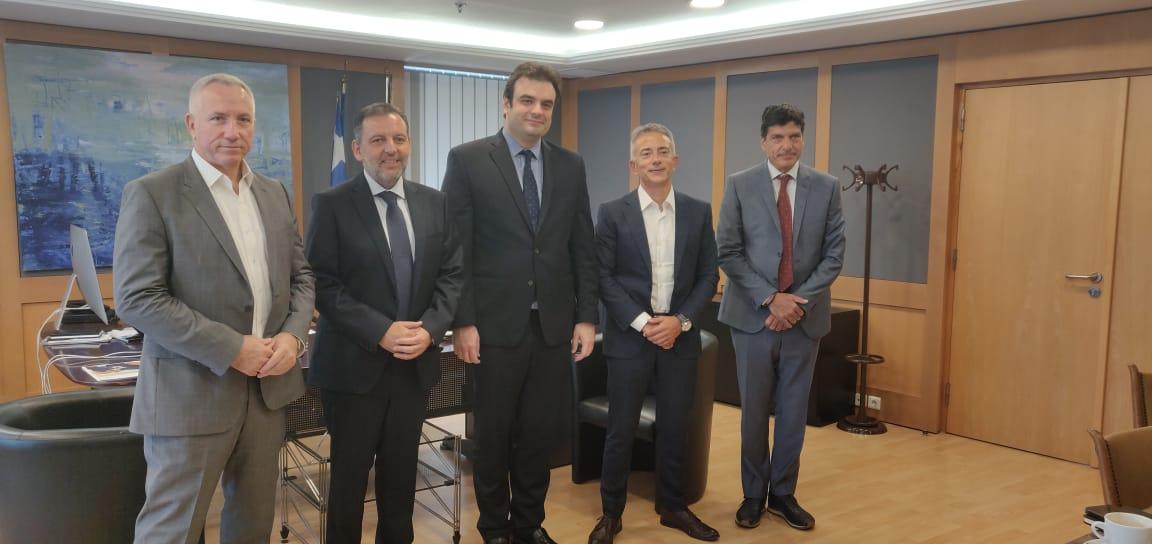 Συνάντηση του Υπουργού  Ψηφιακής Διακυβέρνησης με τους επικεφαλής δικτύων κινητής τηλεφωνίας