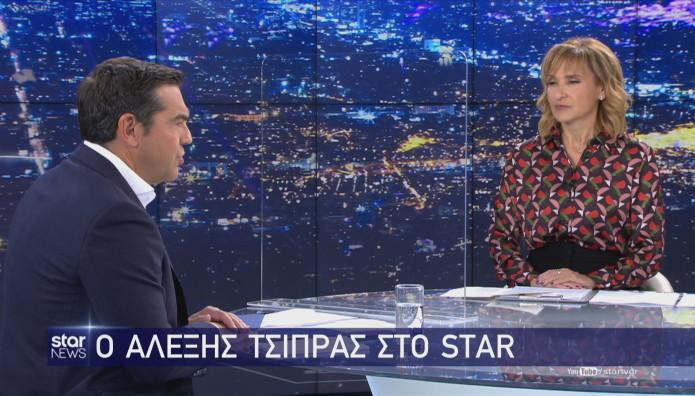 Συνέντευξη του Προέδρου του ΣΥΡΙΖΑ στο κεντρικό δελτίο ειδήσεων του Star